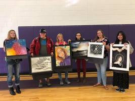 Art students compete
