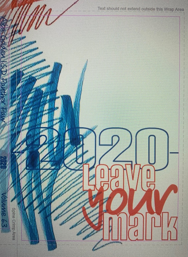 2020 yearbook front cover