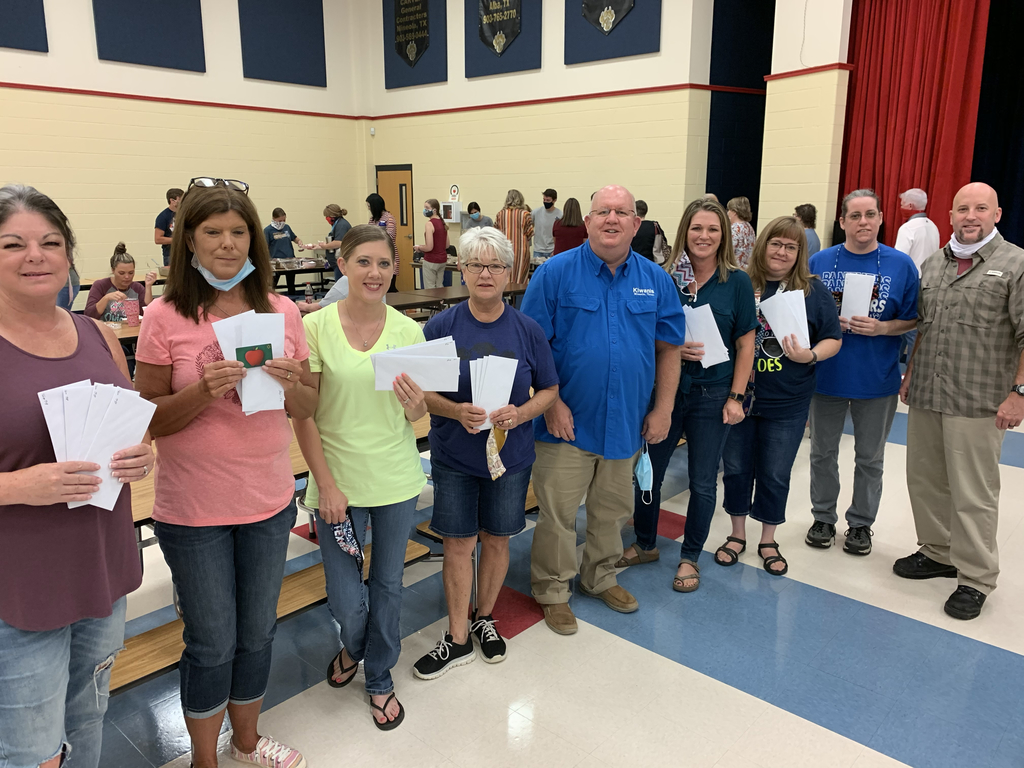 Elementary teachers receive a surprise