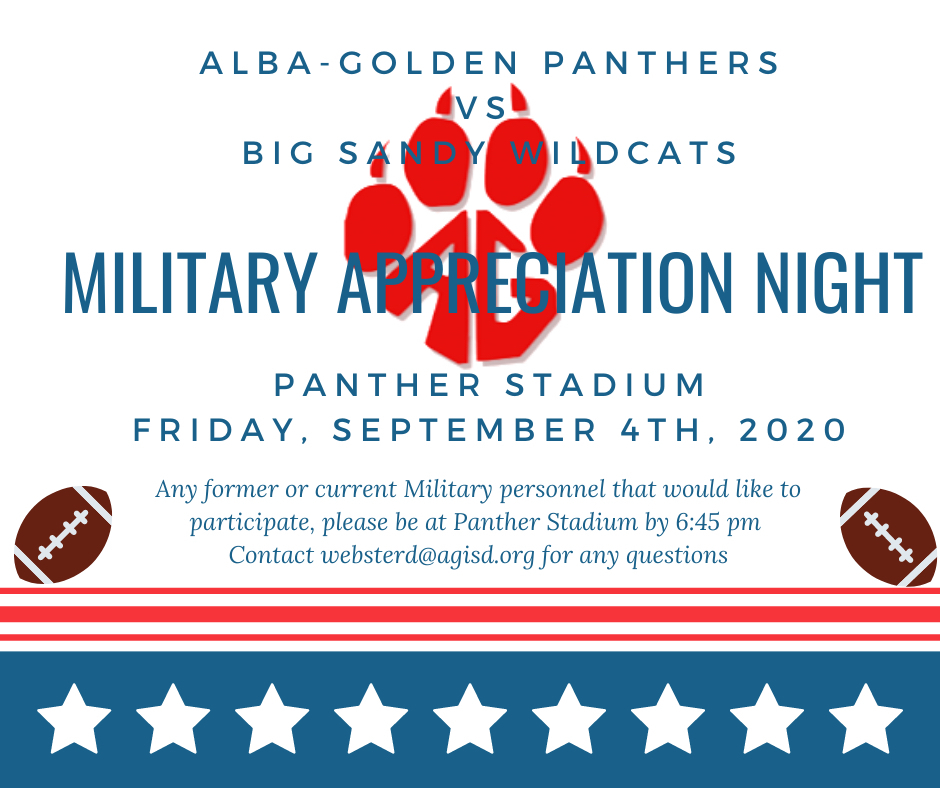 Military Appreciation Flyer